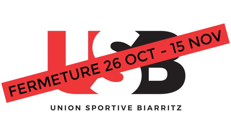 Fermeture de la salle 26 octobre - 15 novembre