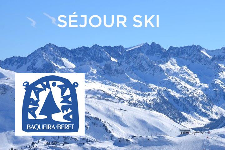 Séjour ski avec l'USB